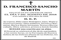 Francisco Sancho Martín